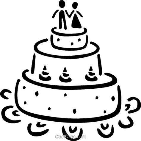 Hochzeitstorte Clipart by Hochzeitstorten Vektor Clipart Bild Vc035180 Coolclips