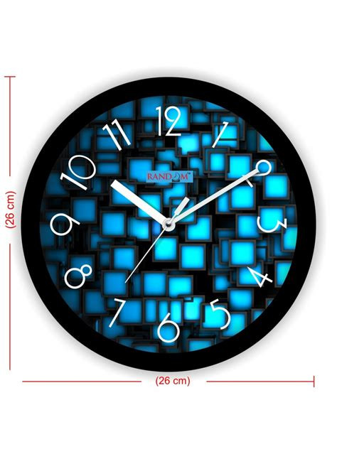 colorful clocks colorful wooden designer analog wall clock rc 2016