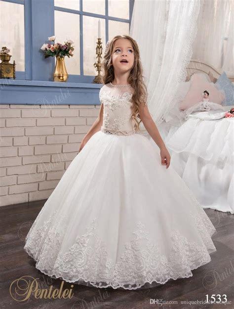 Wedding Dress Flo wedding dresses with cap sleeves and beaded sash 2017