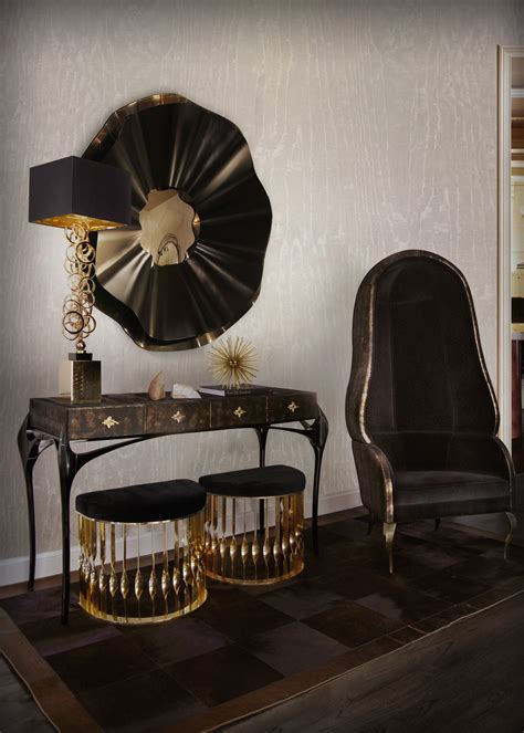 Black Home Decor Accessories by Best Luxury Home Decor With Black Furniture