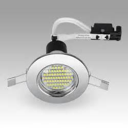lights ebay chrome led gu10 mains recessed ceiling spot light