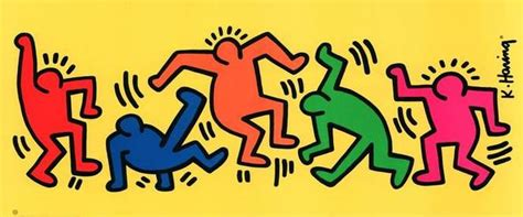 moving figures fayston elementary keith haring moving figures