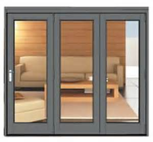 Bi Folding Patio Doors Prices 2390 X 2090 Grey Aluminium Bi Folds Folding Doors 2 U
