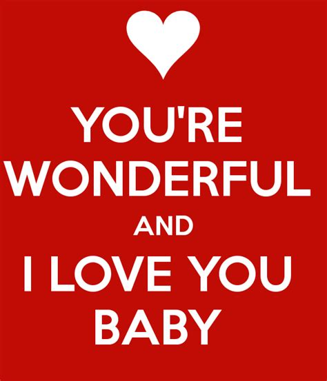 i you you re wonderful and i you baby poster ashton