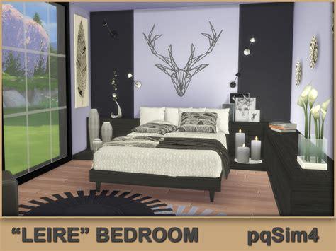 custom bedroom quot leire quot bedroom sims 4 custom content