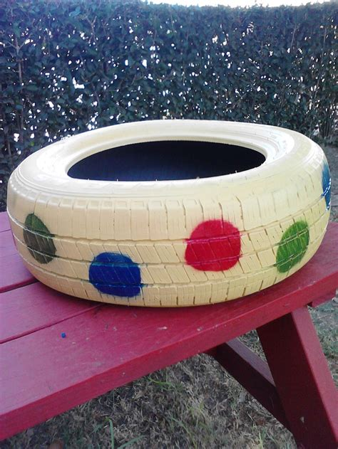 painted tire swing pin by o2 treehouse on tire chair project pinterest