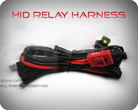 how to install capacitor on hid relay opt7 ac 25w fog 5202 hid kit w relay harness bundle 166 all xenon light colors ebay