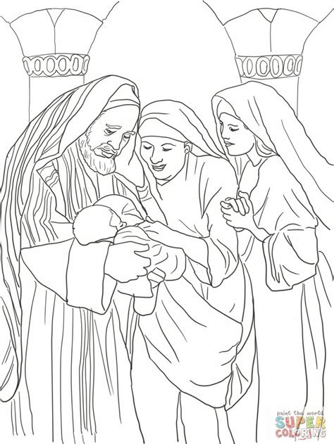 coloring page zechariah at the temple 17 best images about bible stories new testament on