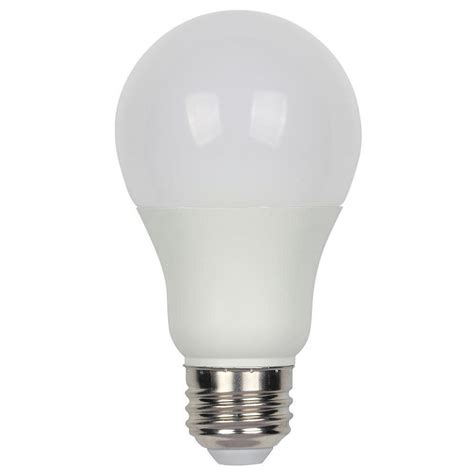 Led Light Bulbs Daylight Westinghouse 60w Equivalent Daylight Omni A19 Dimmable Led Light Bulb 4309700 The Home Depot