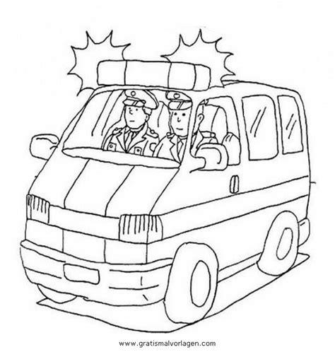 Polizeiauto Zum Malen by Polizeiauto 1 Gratis Malvorlage In Autos Transportmittel