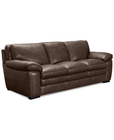Macys Leather Sectional Sofa Corman Leather Sofa Only At Macy S Furniture Macy S
