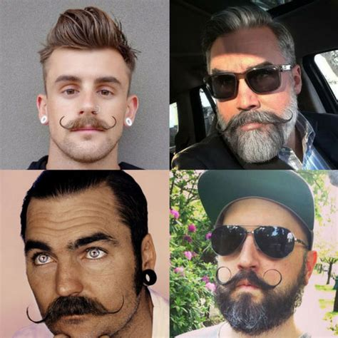 what mustache style is appropriate for me how to grow a handlebar mustache men s hairstyles