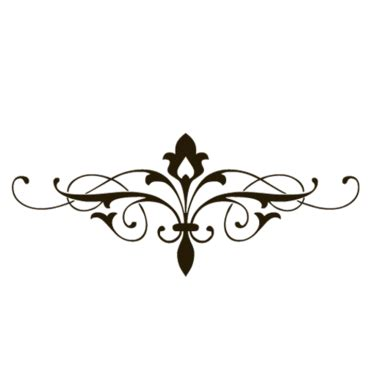 decorative line scroll best fancy lines 22160 clipartion