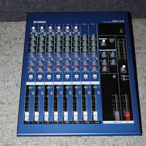 Mixer Yamaha Mg Series photo yamaha mg12 4 yamaha mg series mg12 4 418042