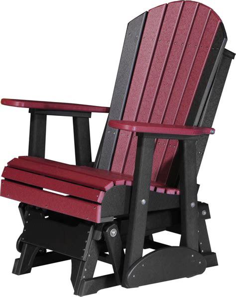 adirondack glider bench outdoor furniture