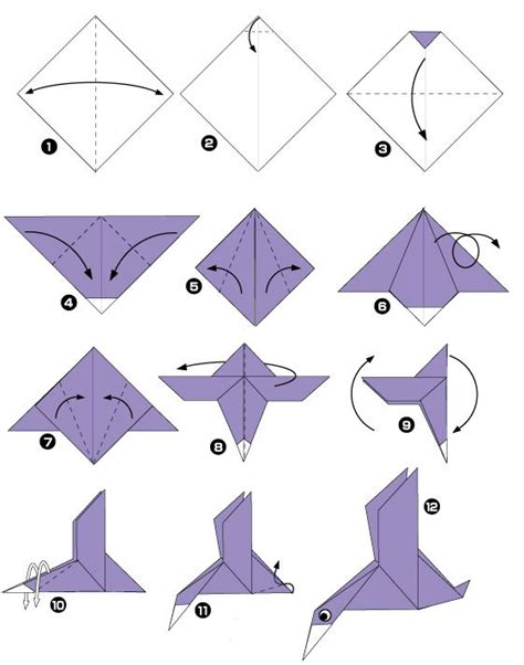 Origami Birds For Beginners - origami eend origami dieren origami