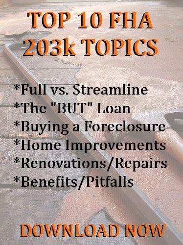 7 improvements that make a house an fha 203k candidate