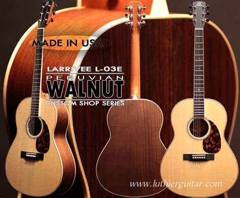Handmade Acoustic Guitars Usa - luthier guitar acoustic guitars gt larrivee usa guitars