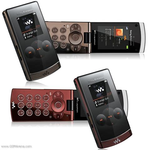 Hp Sony Gsmarena sony ericsson w980 pictures official photos