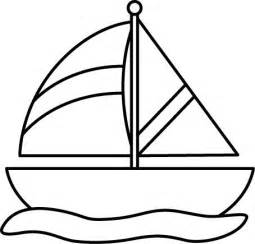 Sailboat Clipart Black And White black and white sailboat in water printables graphics black and sailboats