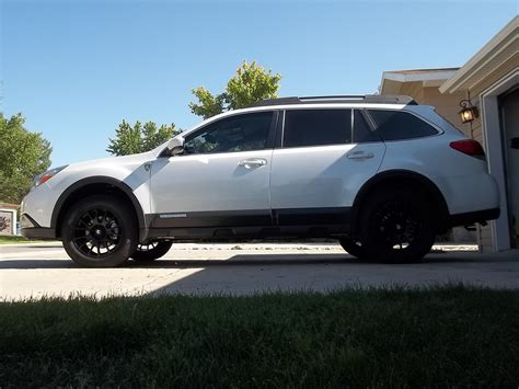 Subaru Outback Black Wheels Vehicle Mods
