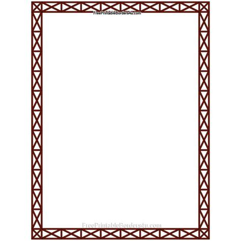 printable stationery border designs pages border design clipart best