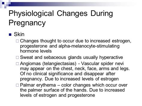 color changes during pregnancy n107 essentials of nursing care reproductive health ppt