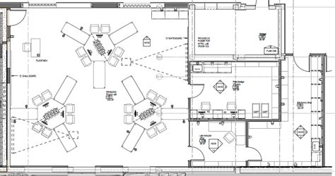 lab floor plan general physics teaching laboratory