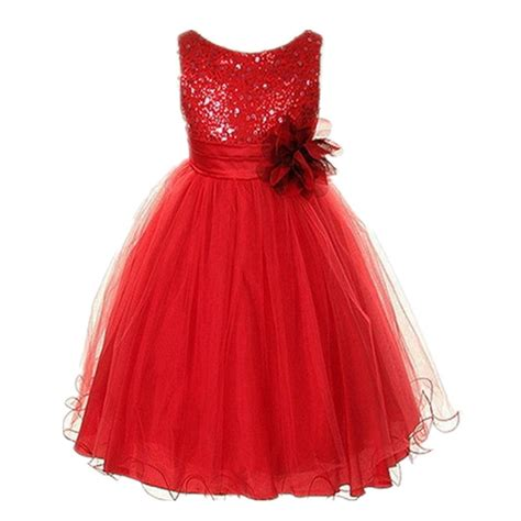 Kid Dress Lace kid baby pageant sleeveless dress tulle lace