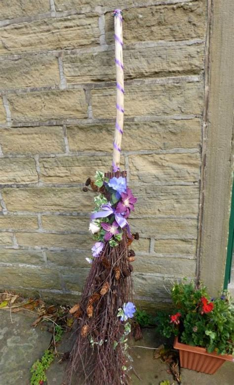 How To Decorate A Broom For A Wedding by 17 Best Images About Witch S Wardrobe On Diy