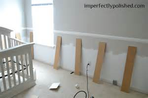 nursery with wainscoting inexpensive wainscoting tutorial nursery board and batten