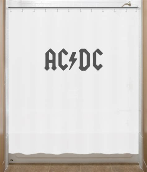 dc shower curtain ac dc shower curtain acdc shower curtains