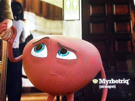 actress in commercial for myrbetriq tech media tainment the 6 most disgusting product mascots