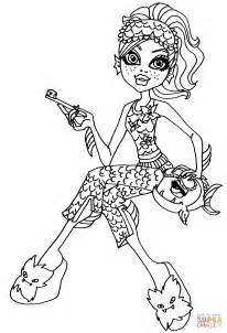 monster high dead tired coloring pages monster high lagoona blue coloring pages www pixshark
