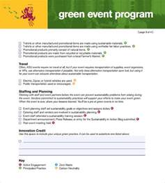 event programs templates sle event program template 38 free documents in pdf