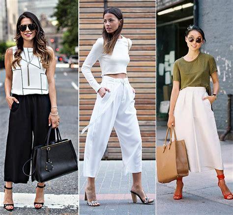 Baju Kodok Wanita Al pantalones culottes una tendencia de verano