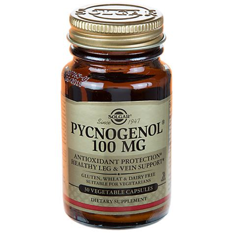 Extension Pygnogenol 100mg 60 Caps products to keep health and fight aging