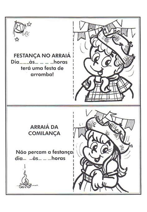Modelo De Convite Para Festa Convites Para Festa Junina Modelos De Convites Para Festa Junina S 211 Escola