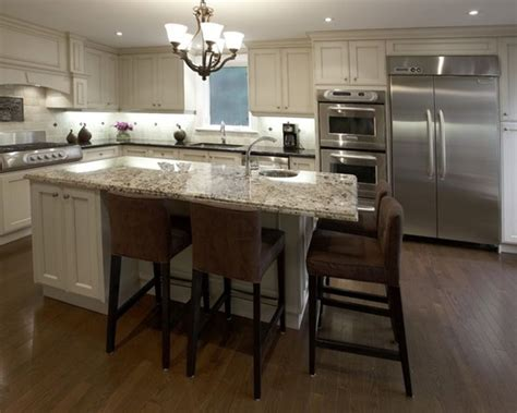 build a kitchen island with seating custom kitchen islands with seating kitchen pinterest