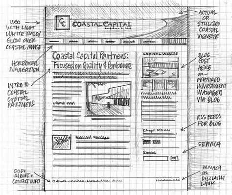 drawing web page 20 exles of web and mobile wireframe sketches