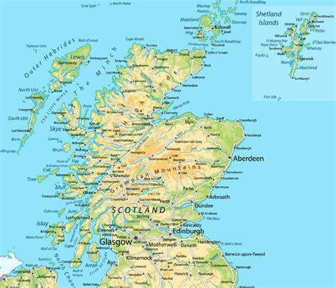scotland mapping the nation 1780274831 landkarte schottland eine klassische landkarte zu ihrer orientierung reiseangebote