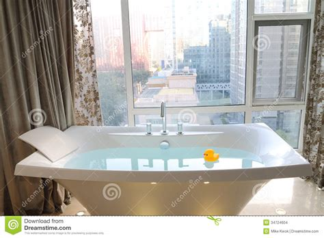 hotel room with bathtub bathtub stock images image 34724604