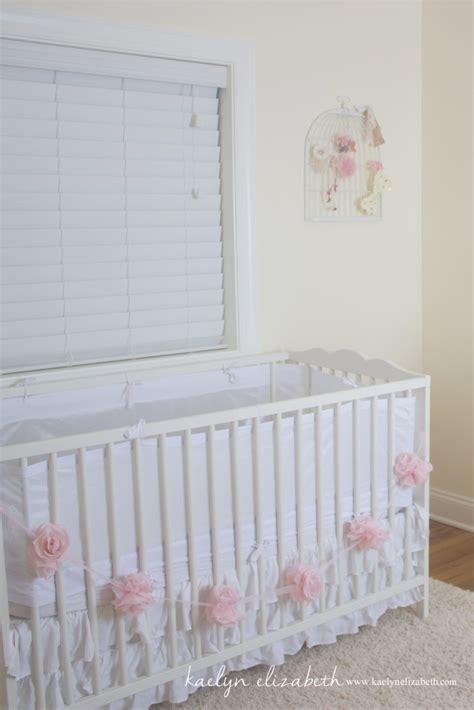 shabby chic crib harlow s shabby chic feminine nursery project nursery