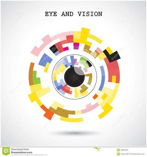 backdrop logo design creative circle abstract vector logo design background