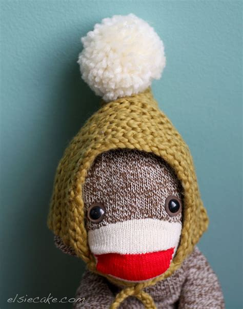 Monkey Handmade - handmade sock monkey diy a beautiful mess