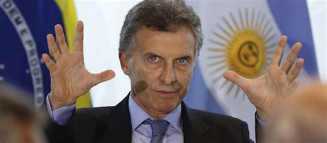 mauricio macri argentina president as argentina turns to the right what has russia lost