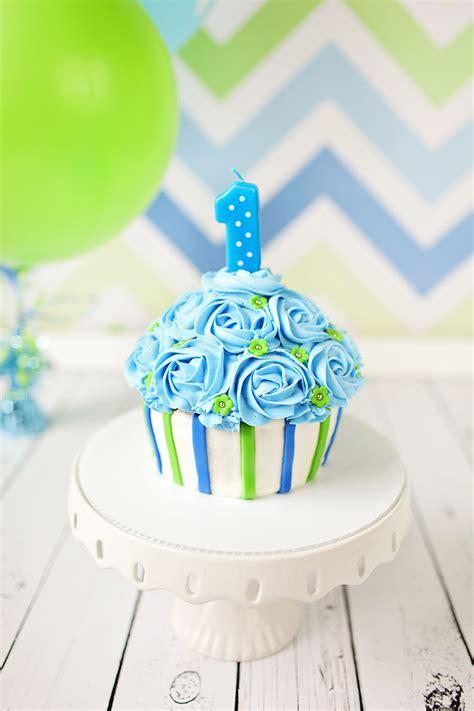 St Blue Boy 1st birthday cupcake blue www pixshark images