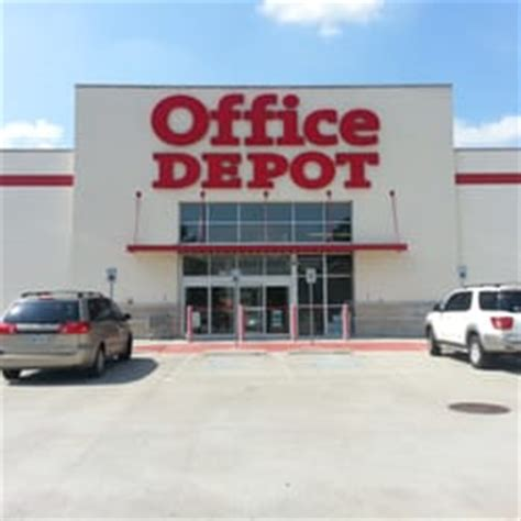 Office Depot Houston Tx office depot office equipment 1401 n lp w the heights