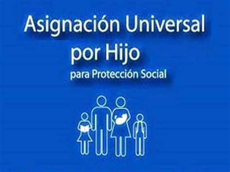 anses asignacin universal por hijo qu se cobra el 30 asignaci 243 n universal por hijo marzo de 2015 fecha de cobro
