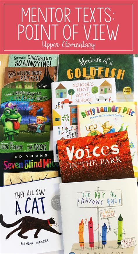 picture books to teach point of view read alouds to teach point of view mentor texts for